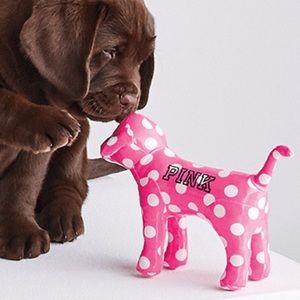 🖤 VS PINK Polka Dot Mini Dog Pup Collectible